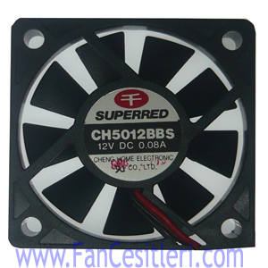 50x50x10 mm-SUPERRED-3804 Fan