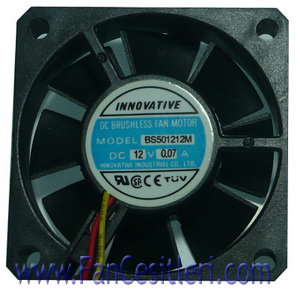 50x50x10 mm-INNOVATIVE-3806 Fan